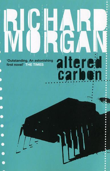 Altered Carbon UK paperback