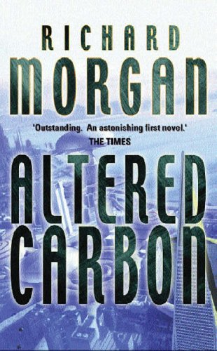 Altered Carbon UK hardback