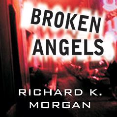 Broken Angels US audiobook