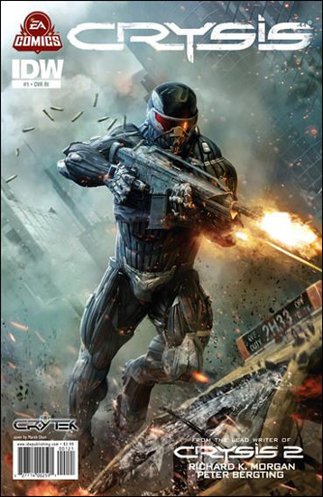 Crysis 2 Graphic Novel cover