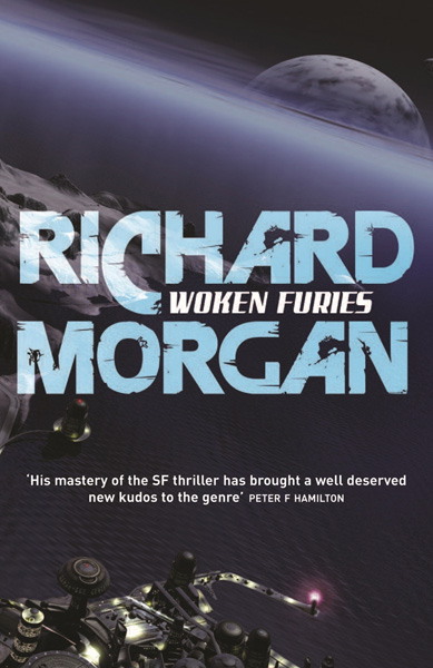 Woken Furies UK Paperback