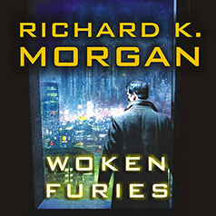 Woken Furies US audiobook